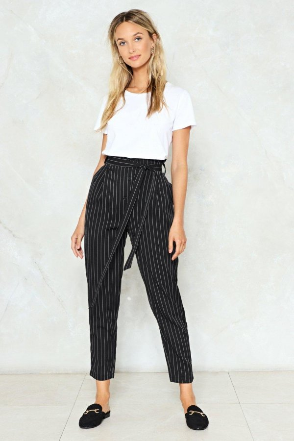 Pinstripe Your Hopes on It Pants