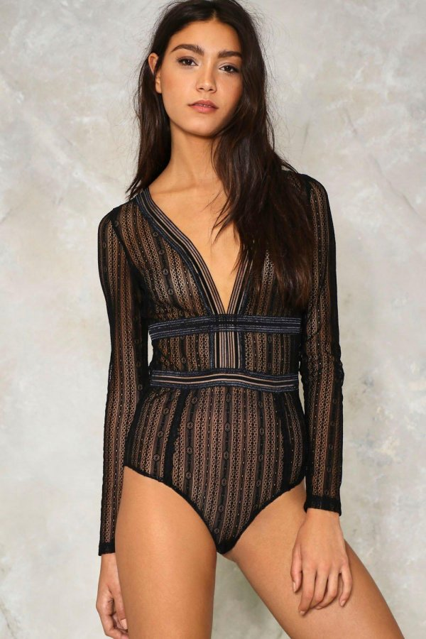 Sheer Me Out Bodysuit