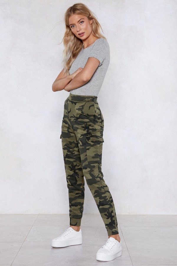 March On Camo Joggers