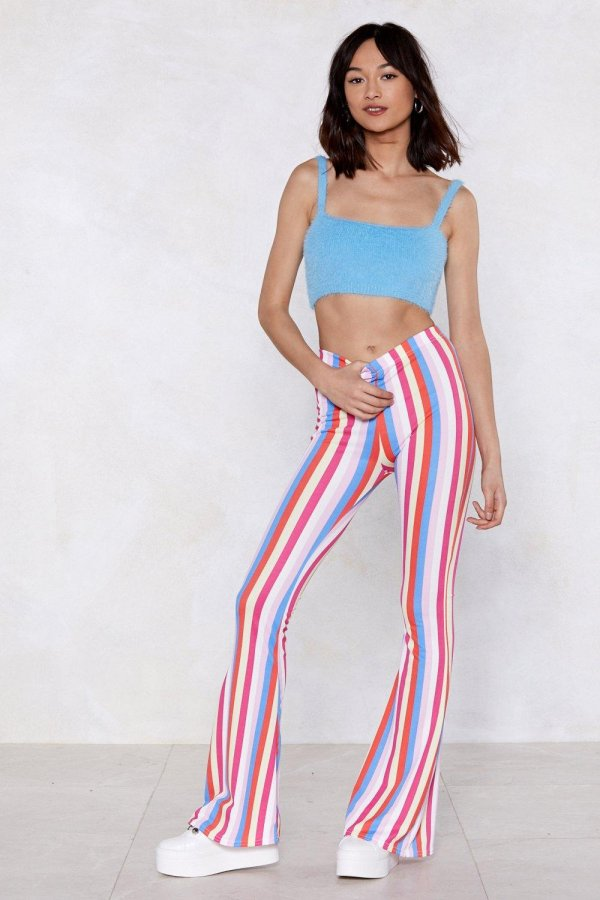 All Down the Line Flare Pants
