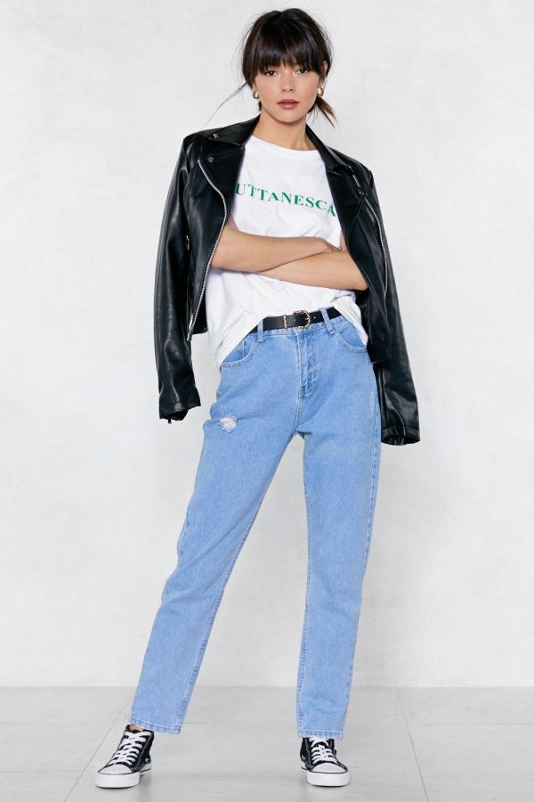 Laid-Back Mom Jeans