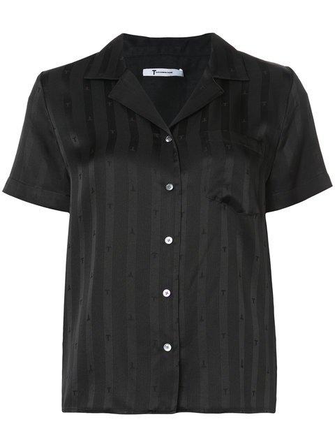 T By Alexander Wang Striped Shirt - Farfetch