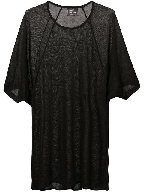 Lost & Found Ria Dunn Shortsleeved Sheer T-shirt - Farfetch