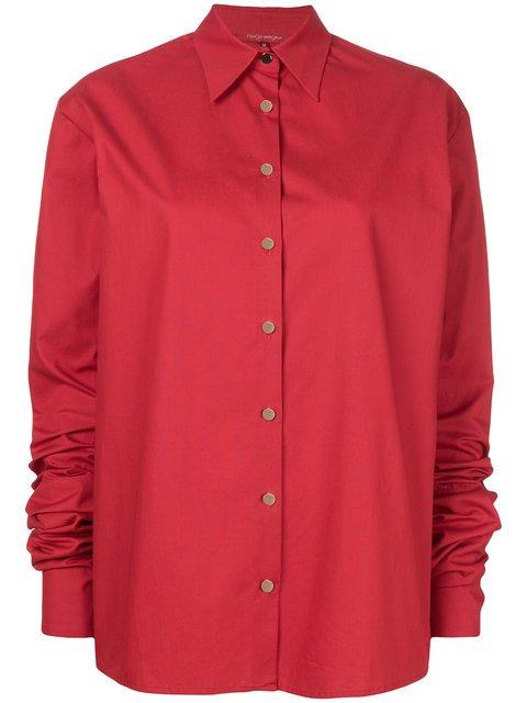 Rouge Margaux Extra Long Sleeve Shirt - Farfetch