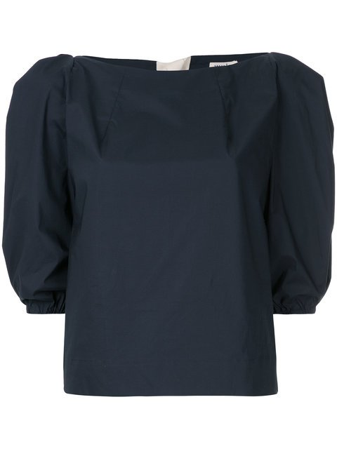 Whit Puff Sleeve Blouse - Farfetch