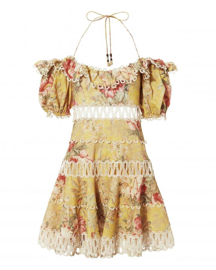 Melody Off Shoulder Mini Dress