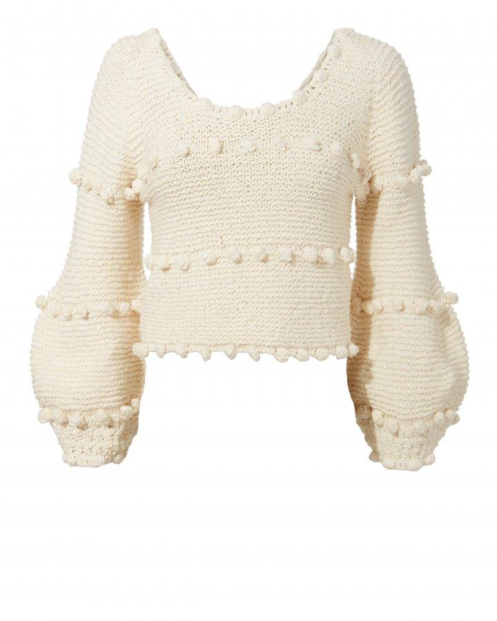 Hyachinth Pom Pom Sweater