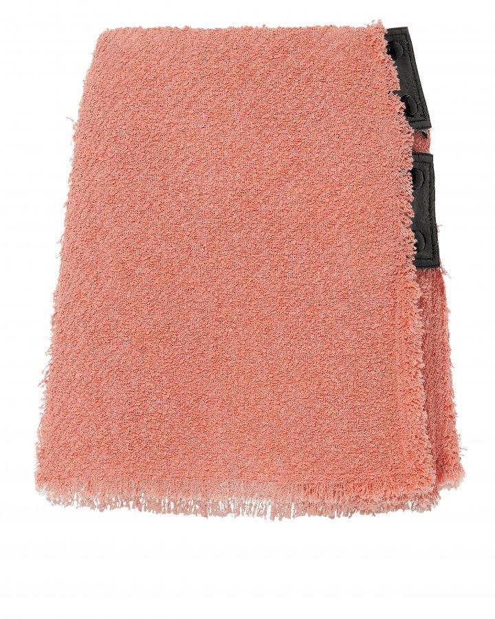Terry Tweed Mini Skirt