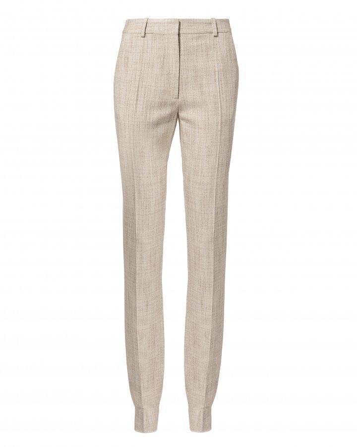 Tweed Slim Leg Trousers