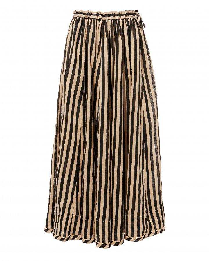 Jaya Draw Flare Maxi Skirt