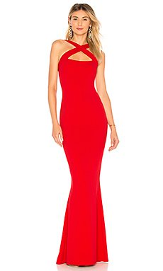 Viva 2Way Gown in Red