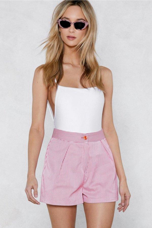 Ooh Ahh Striped Shorts