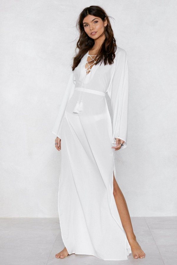 Strings Attached Maxi Dress