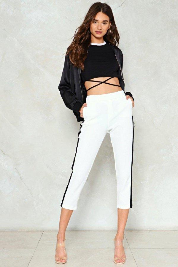 Take Sides High-Waisted Pants