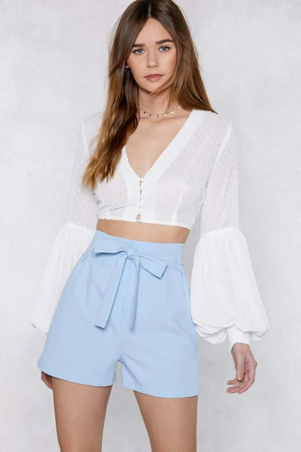 Promise to Tie Tailored Shorts