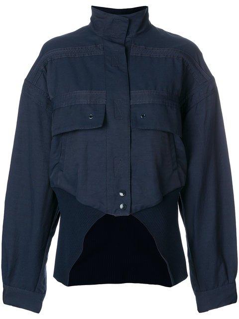 Stella McCartney Cut-away Bomber Jacket - Farfetch