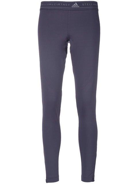 Adidas By Stella Mccartney Logo Waistband Leggings - Farfetch