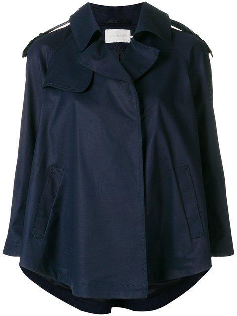 L\'Autre Chose Stud Detail Trench Jacket - Farfetch