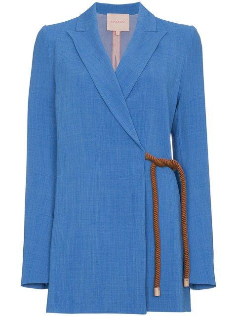 Roksanda Belted Rope Jacket - Farfetch