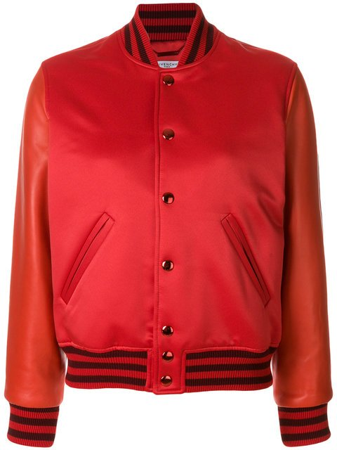 Givenchy Fitted Bomber Jacket - Farfetch