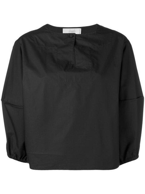 Maison Flaneur Boxy Puff Sleeve Blouse - Farfetch