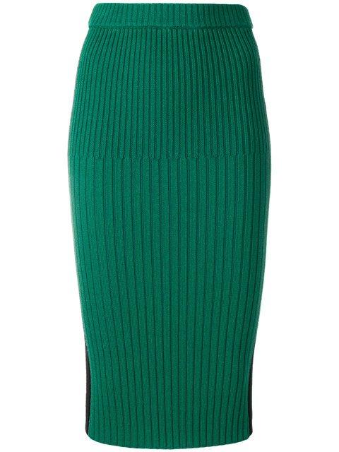 Joseph Ribbed Pencil Skirt - Farfetch