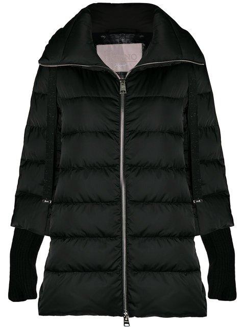 Herno Wool Cuff Puffer Jacket - Farfetch