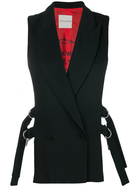 Each X Other Belted Waistcoat - Farfetch