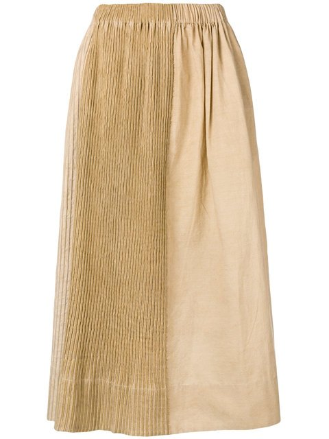 Uma Wang Ribbed Full Skirt  - Farfetch