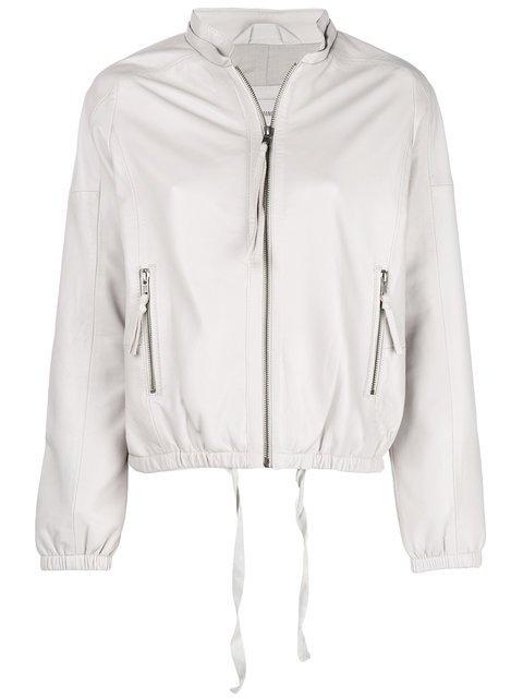 Humanoid Leather Bomber Jacket - Farfetch