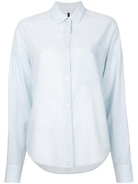 Nobody Denim Fineline Shirt Pure Blue - Farfetch