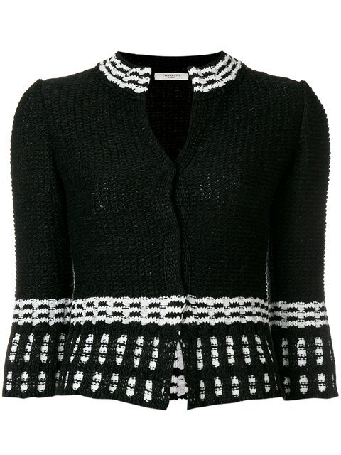Charlott Fitted Knit Jacket  - Farfetch