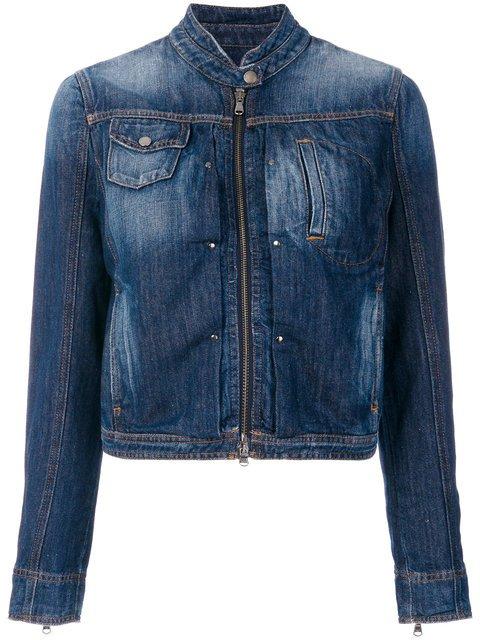 Emporio Armani Denim Jacket - Farfetch