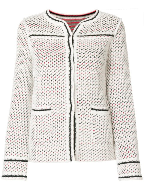 Charlott Fitted Perforated Jacket - Farfetch