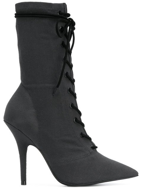 Yeezy Lace-up Ankle Boots - Farfetch