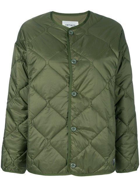 Carhartt Quilted Puffer Jacket - Farfetch