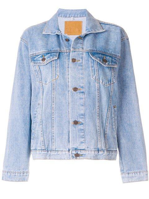Mua Mua Karletto Sequinned Denim Jacket - Farfetch