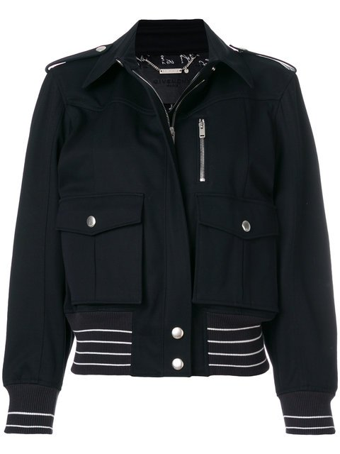 Givenchy Zipped Fitted Jacket - Farfetch
