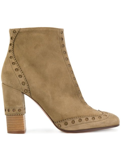 Chloé Perry Ankle Boots - Farfetch