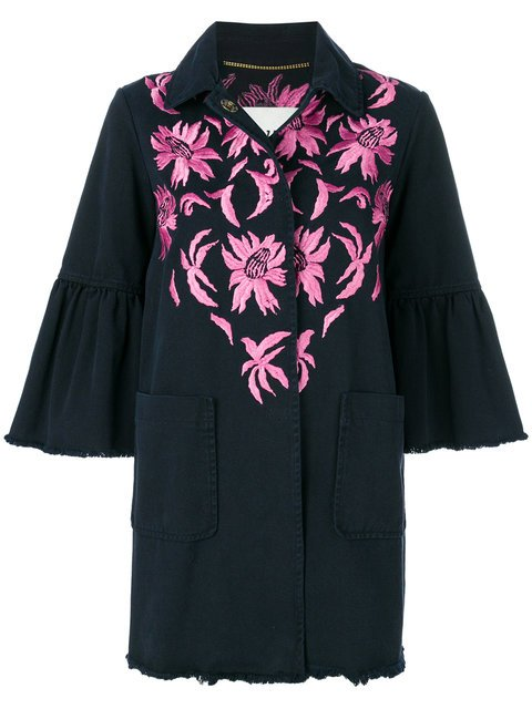 Bazar Deluxe Embroidered Button Jacket - Farfetch