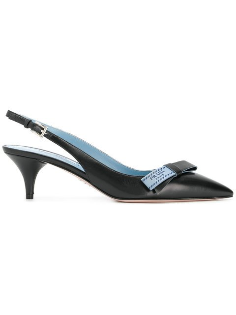 Prada Slingback Pumps - Farfetch