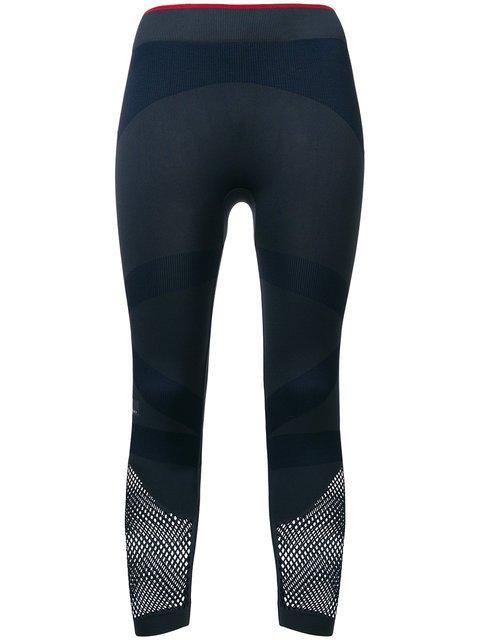 Adidas By Stella Mccartney Cropped Performance Leggings - Farfetch