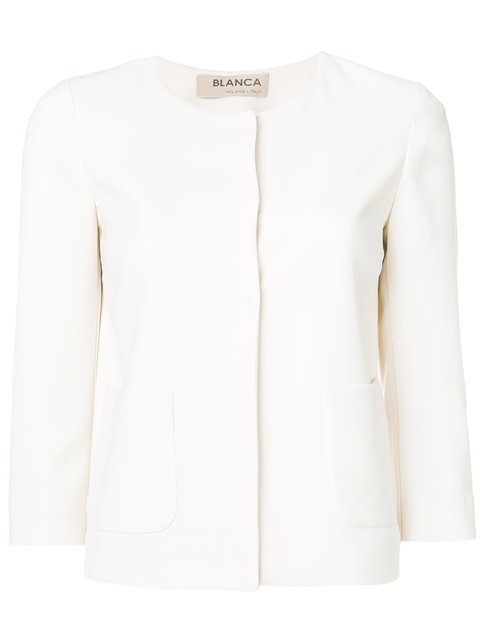 Blanca Fitted Jacket  - Farfetch