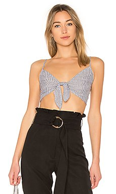 Sandy Striped Crop Top                                             by the way.