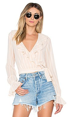 Holly Wrap Top                                             Tularosa
