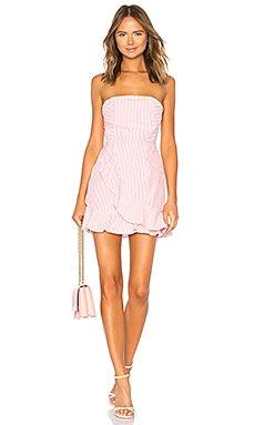 Rosalie Stripe Ruffle Dress                                             by the way.