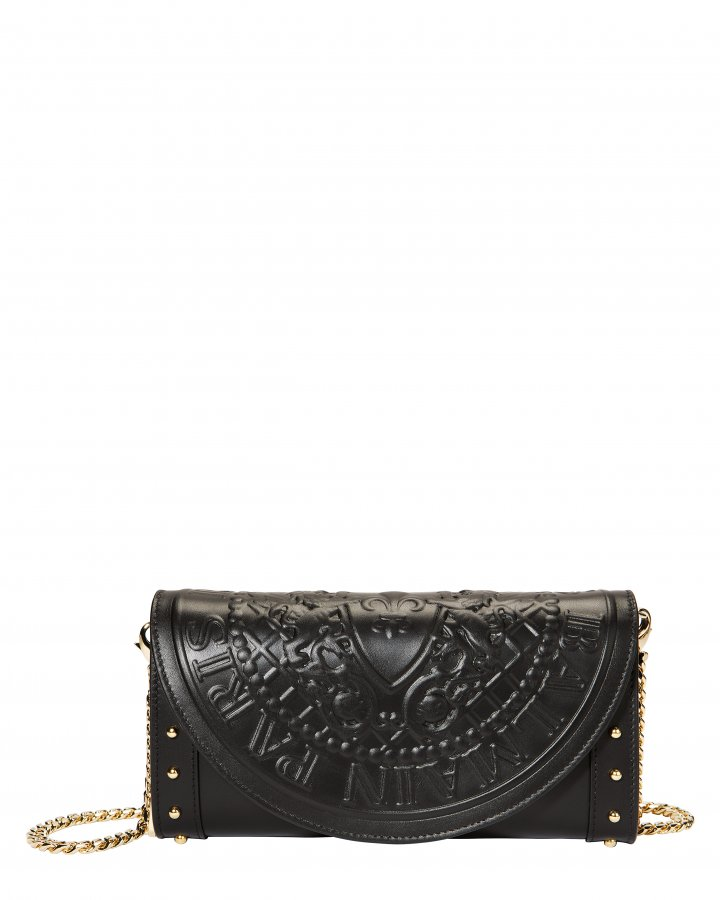 Black Clutch Chain Bag