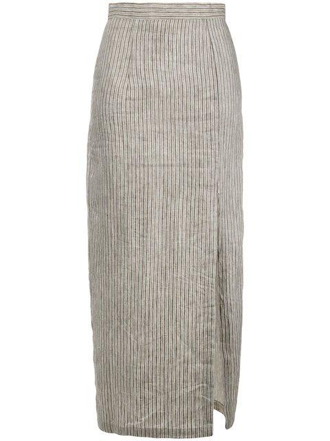 Mara Hoffman Polly Front Slit Pencil Skirt - Farfetch