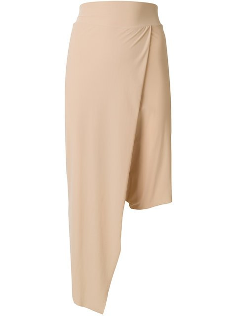 Lost & Found Ria Dunn Asymmetric Fitted Skirt - Farfetch