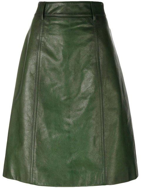 Prada A-line Midi Skirt - Farfetch